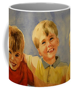 Brothers Coffee Mug by Marilyn Jacobson