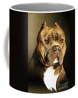 Pitbull Coffee Mugs