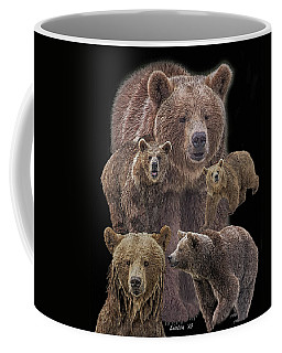 Brown Bears 8 Coffee Mug