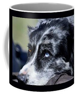 Brown Eye Blue Eye Coffee Mug