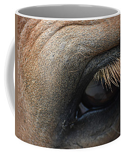 Brown Horse Eye Coffee Mug