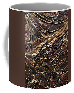 Brown Lace Coffee Mug