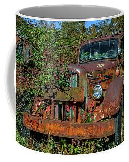 Brown Mack Truck Coffee Mug by Jerry Gammon