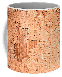 Brown Paint Texture Coffee Mug by John Williams