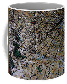 Brown Splatter Coffee Mug