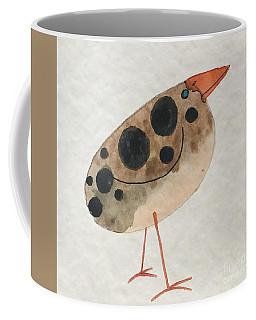 Brown Spotted Bird Coffee Mug