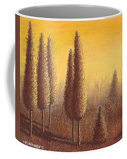 Brown Trees 01 Coffee Mug