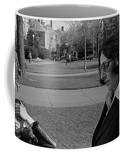 Brown University Student And His Mother, 1975 Coffee Mug