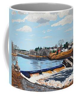 Brownville Village Dam Coffee Mug