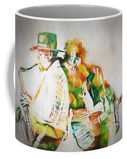 Bruce And The Big Man Coffee Mug