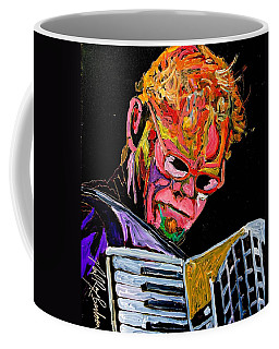 Bruce Gordon Of The Blues Defenders Coffee Mug