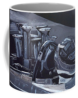 Bruce Mclaren Canam Coffee Mug