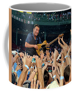 Bruce Springsteen At Fenway Park Coffee Mug