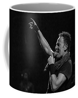 Coffee Mug featuring the photograph Bruce Springsteen In Cleveland by Jeff Ross