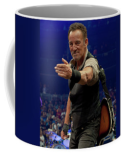 Bruce Springsteen. Pittsburgh, Sept 11, 2016 Coffee Mug by Jeff Ross