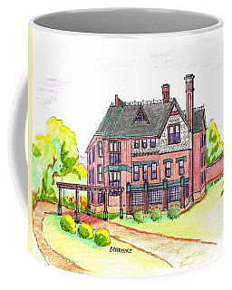 Brucemore Mansion Coffee Mug by Paul Meinerth