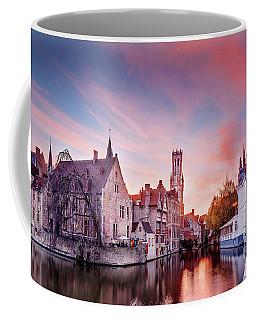 Bruges Sunset Coffee Mug