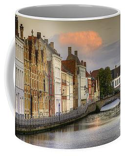 Brugges At Sunset Coffee Mug