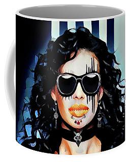 Brunette Full Coffee Mug