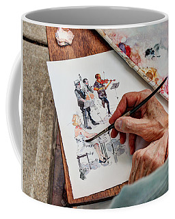 Brush Strokes Coffee Mug