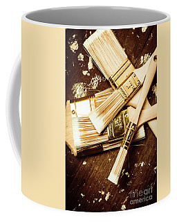 Brushes Of Interior Decoration Coffee Mug