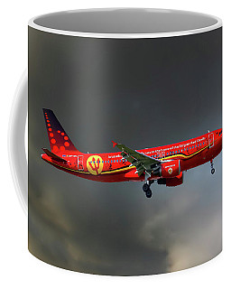 Brussells Airlines Airbus A320-214 Coffee Mug