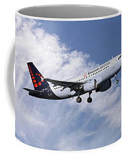 Brussels Airlines Airbus A319-111 Coffee Mug