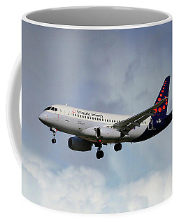 Brussels Airlines Sukhoi Superjet 100-95b Coffee Mug
