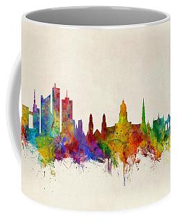 Brussels Belgium Skyline Coffee Mug