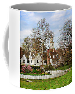 Coffee Mug featuring the photograph Williamsburg Virigina by Ola Allen