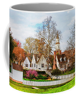 Coffee Mug featuring the photograph Colonial Williamsburg  by Ola Allen