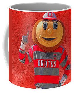 Brutus The Buckeye Coffee Mug