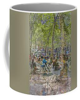Bryant Park Collage 2 Coffee Mug