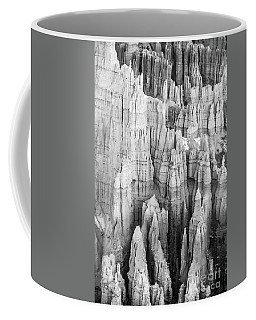 Bryce Canyon Black And White Forest Of Columns Coffee Mug