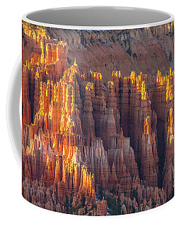 Bryce Canyon Golden Formations Coffee Mug