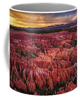 Bryce Canyon In The Glow Of Sunset Coffee Mug