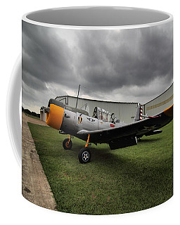 Coffee Mug featuring the photograph Bt-13a Valiant by Linda Unger