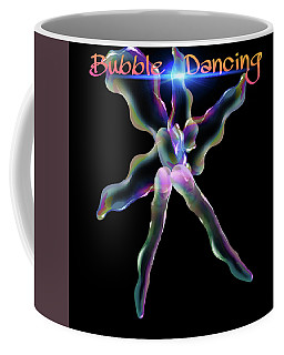 Bubble Dancing Coffee Mug by Gayle Price Thomas
