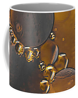 Bubble Motion Abstract Coffee Mug