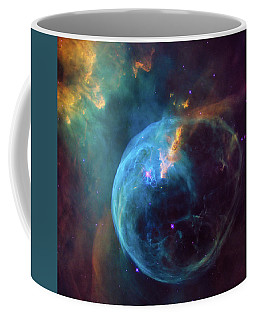 Coffee Mug featuring the photograph Bubble Nebula by Marco Oliveira