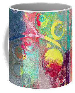 Coffee Mug featuring the painting Bubble Tree - 285l by Variance Collections