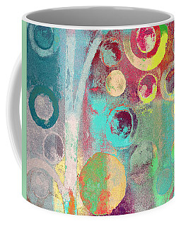 Coffee Mug featuring the digital art Bubble Tree - 285r by Variance Collections