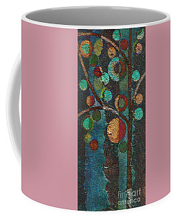 Bubble Tree - Spc02bt05 - Left Coffee Mug by Variance Collections