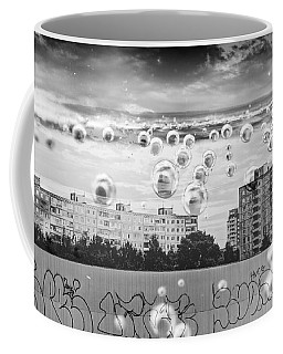Bubbles And The City Coffee Mug