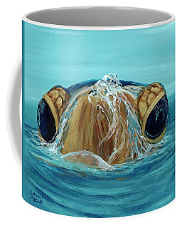 Coffee Mug featuring the painting Bubbles by Darice Machel McGuire