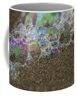 Bubbles On Sand Coffee Mug