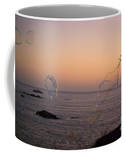 Bubbles On The Beach Coffee Mug