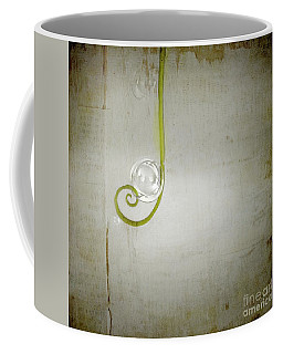 Coffee Mug featuring the digital art Bubbling - 02tt04a by Variance Collections