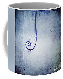 Coffee Mug featuring the digital art Bubbling - 033a by Variance Collections