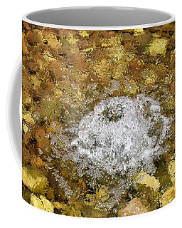 Bubbling Water In Rock Fountain Coffee Mug